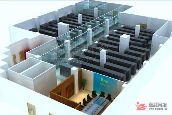 【项目概况】:该数据中心300多平方,按照国家a类机房设计