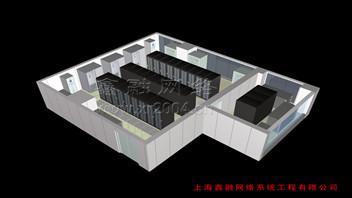 橡果國際總部數據中心機房建設