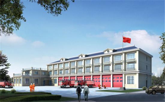 上海消防特種車輛裝備維修中心廠房弱電工程